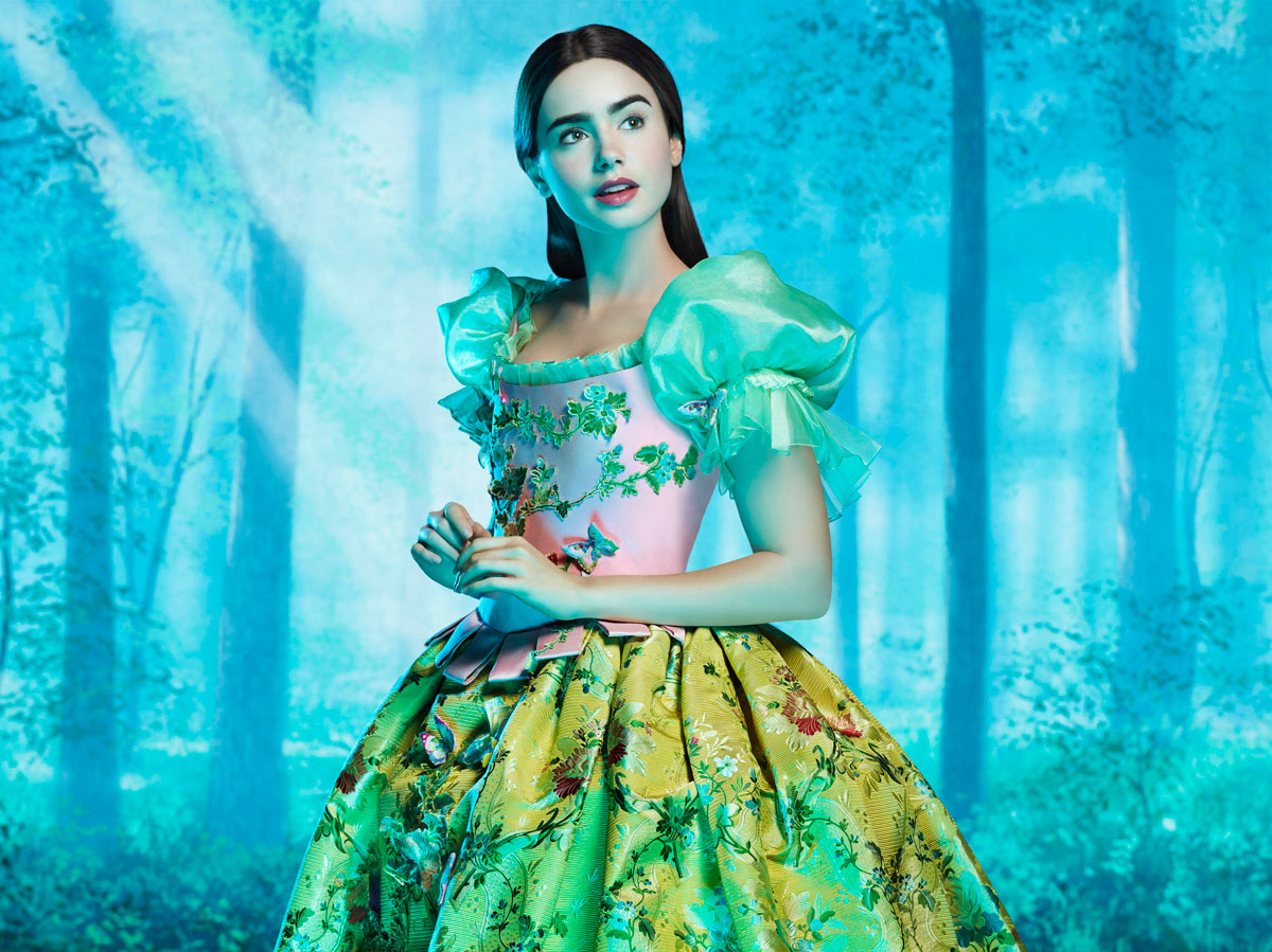 Lily Collins stars in Relativity Media's Untitled Snow White Project. Photo Credit: Matthew Rolston. © 2011 Relativity Media, LLC. All Rights Reserved.