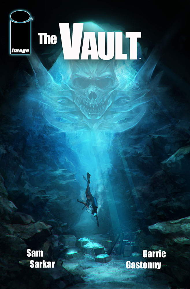 The Vault Comic Cover
