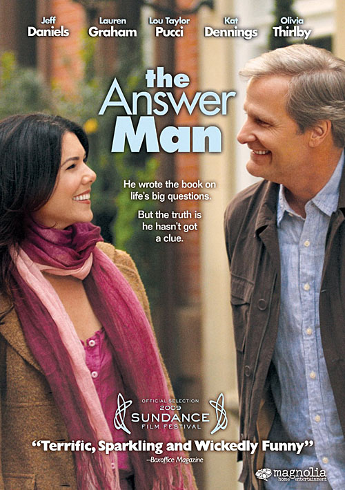 The Answer Man DVD packaging