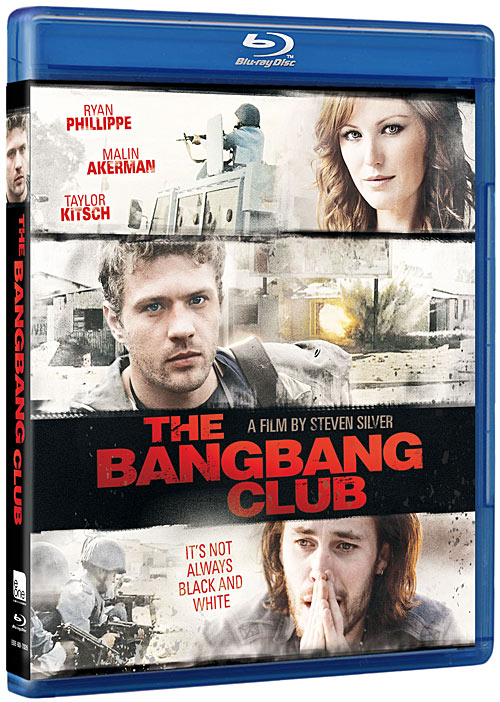 The Bang Bang Club Blu-ray packaging
