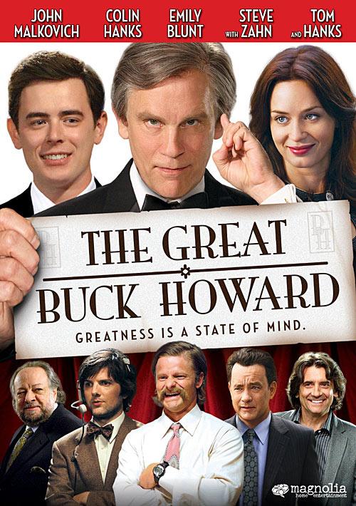 The Great Buck Howard DVD packaging
