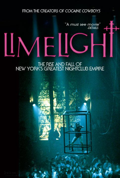 Limelight movie poster nightclub