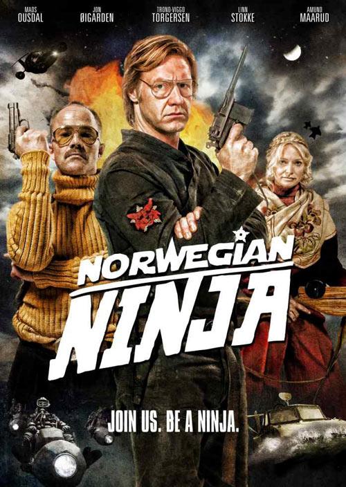 Norwegian Ninja DVD packaging