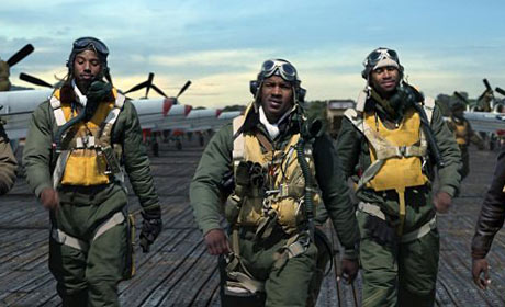 A scene from Red Tails