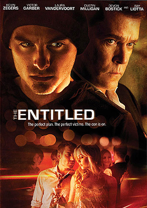 The Entitled DVD packaging