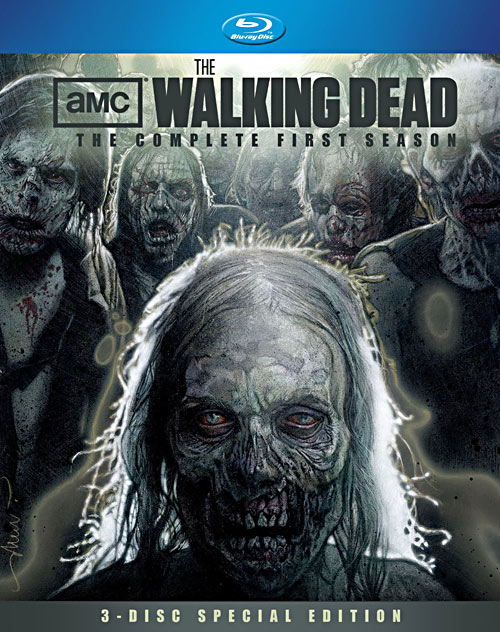 The Walking Dead: Season One Special Edition Blu-ray packaging