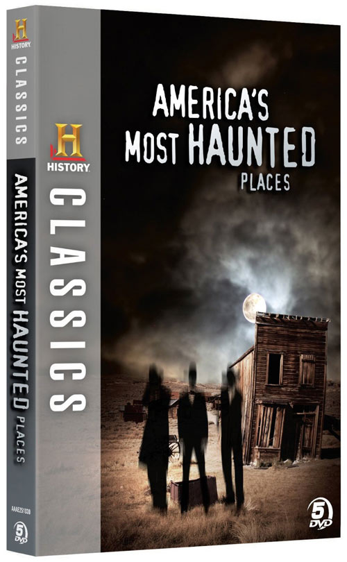 America's Most Haunted Places DVD packaging