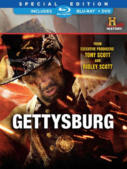 Gettysburg Blu-ray packaging