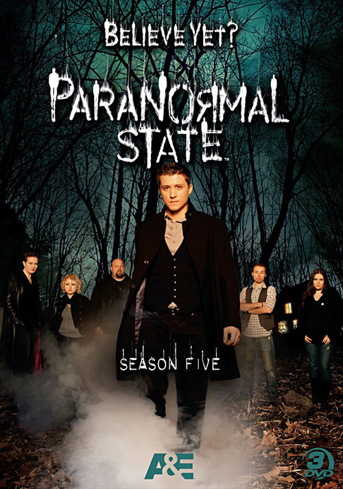 Paranormal State: Season 5 DVD packaging