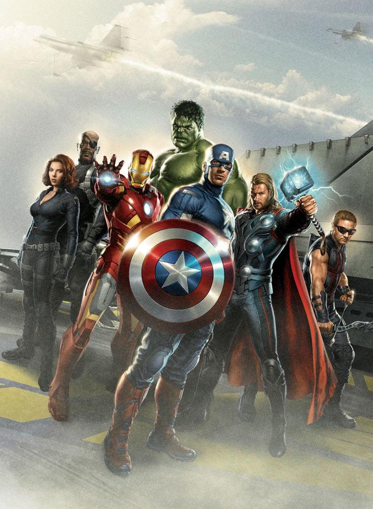 The Avengers movie promotional image
