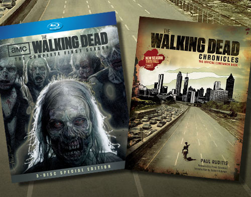 Win free copies of The Walking Dead Companion Book and Special Edition Season One Blu-ray Set