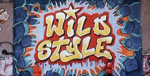 Wild Style graffiti mural by Fab 5 Freddy