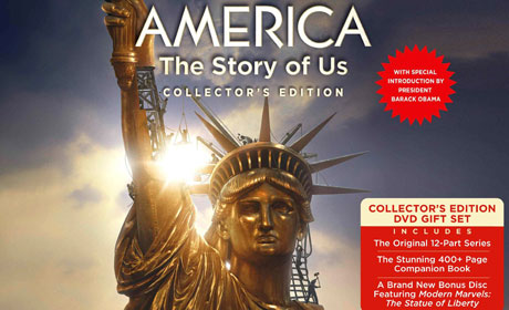America: The Story of Us DVD packaging