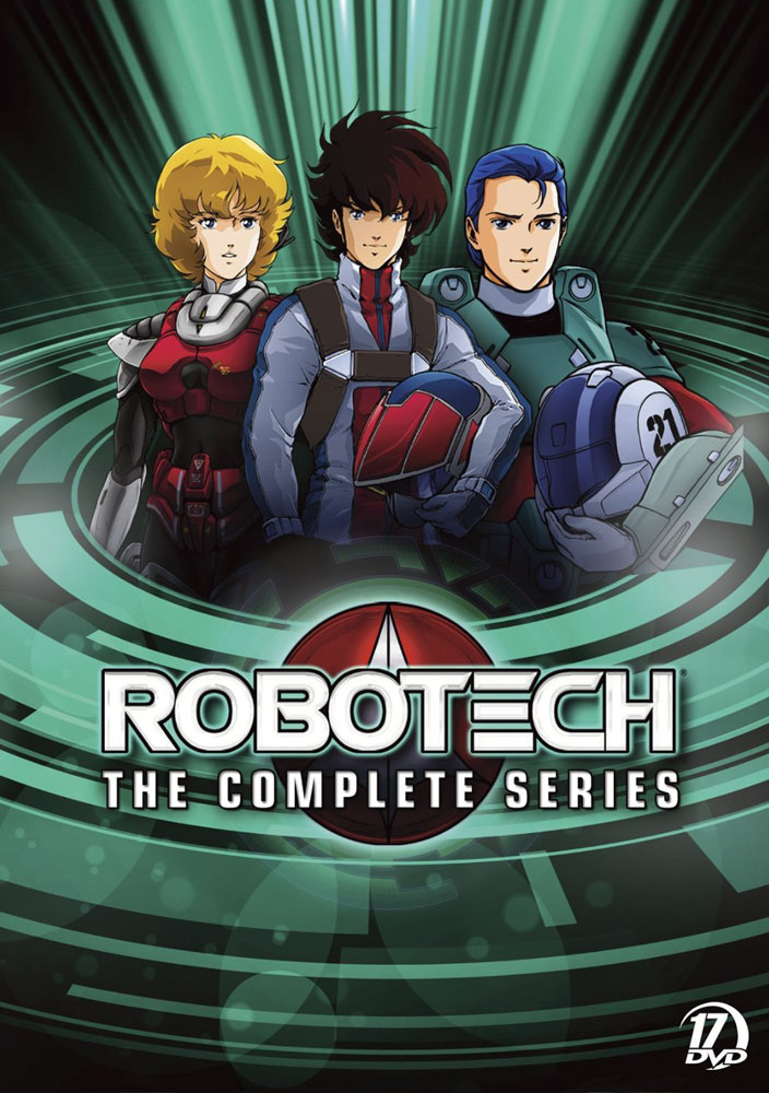 Robotech: The Complete Series DVD packaging