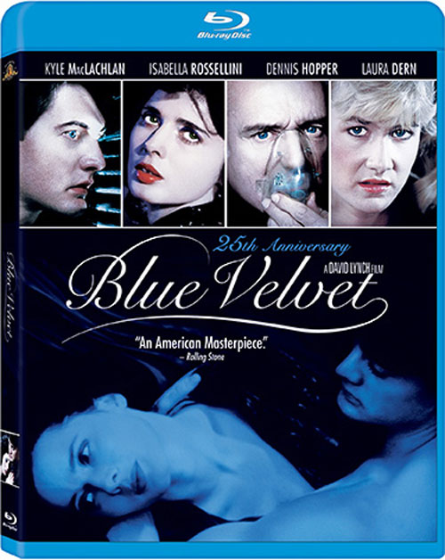 Blue Velvet 25th Anniversary Blu-ray cover