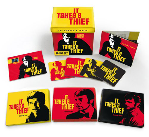 It Takes a Thief collectible 18-Disc DVD Set