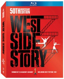 West Side Story Blu-ray packaging