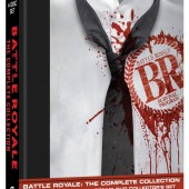 Battle Royale 3-Disc Blu-ray Plus Bonus DVD Set release package design
