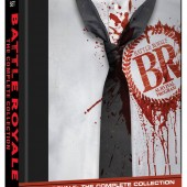 Battle Royale 4-Disc Collector's Set release package design