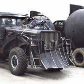 Images of vehicles that will inhabit the Mad Max Fury Road movie