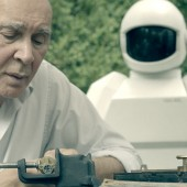 "New images from ""sci-fi"" buddy caper film Robot and Frank"