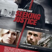 Movie poster and trailer for Roger Donaldson thriller Seeking Justice