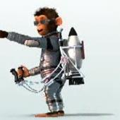 The Space Chimps Flight Simulator Game
