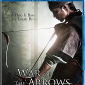 Details and images on disc release of historical action epic War of the Arrows