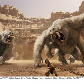 New clip plus large batch of visual affects shots from sci-fi epic John Carter