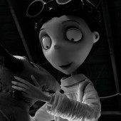 Tim Burton animated film Frankenweenie IMAX news plus new images
