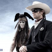 Check out first look image of Johnny Depp as Tonto in the upcoming Lone Ranger movie