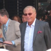 Adam West gets a star on the Hollywood Walk of Fame