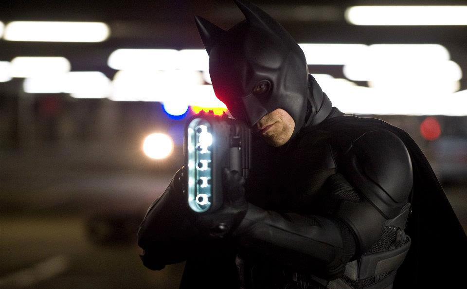Christian Bale in the highly anticipated sequel The Dark Knight Rises