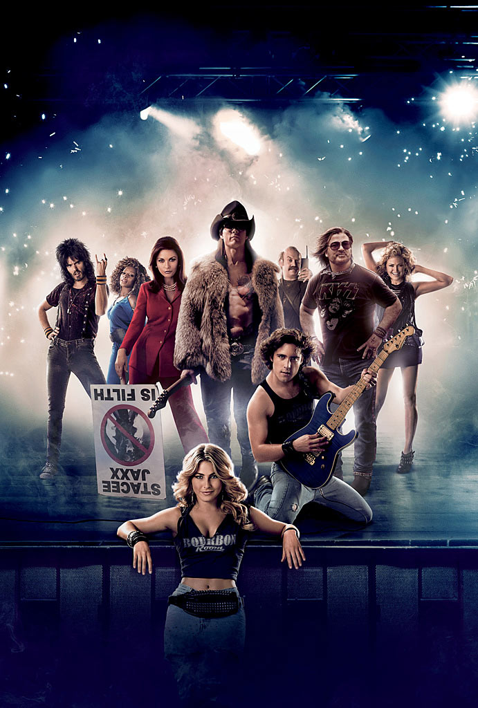 Mary J. Blige and Tom Cruise celebrate the 80's in Rock of Ages