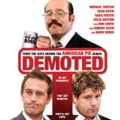 Win 1 of 2 copies of the comedy Demoted on Blu-ray