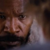 "Jamie Foxx goes hunting for Leonardo DiCaprio in Django Unchained trailer, with James Brown, Johnny Cash…and a silent ""D"""