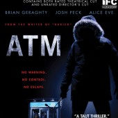 Win a copy of the horror thriller ATM on Blu-ray