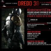 Judgment is Coming to #SDCC with free #Dredd3D film screening with Karl Urban live – retweet #JudgementIsComing