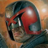 Cover for Dredd 3D digital comic prequel revealed