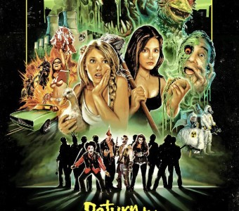 Hand-painted poster revealed for Return to Nuke 'Em High