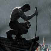 International poster for The Wolverine
