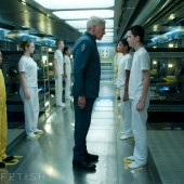 A photo of Ender from the big screen adaptation of Orson Scott Card's sci-fi epic Ender's Game