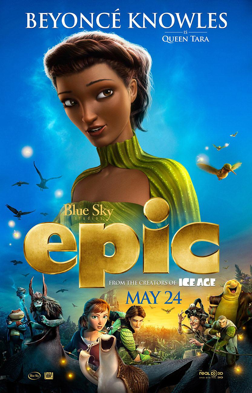 Beyonce Knowles as Queen Tara in Epic