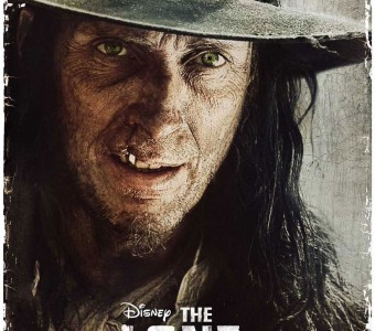 The Lone Ranger William Fichtner as Butch Cavendish character movie poster