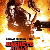 New character poster features Michelle Rodriguez as the savage Shé from Machete Kills