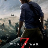 New poster for Brad Pitt's World War Z and video of his surprise appearance at Hoboken screening last night