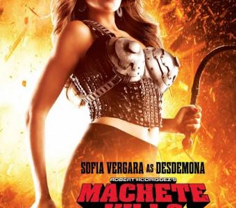 New poster for Machete Kills revealed