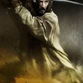 Four character posters and the first trailer for Keanu Reeves' big budget version of 47 Ronin