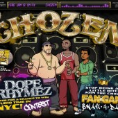 "Chozen creators sponsoring ""Dope Rhymez"" hip hop music contest for chance at recording deal"