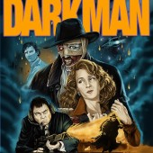 Check out the new poster art for Sam Raimi's Darkman Collector's Edition